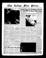 Acton Free Press (Acton, ON)19 Jul 1956