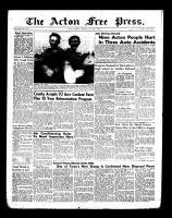 Acton Free Press (Acton, ON)26 Jul 1956