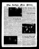 Acton Free Press (Acton, ON)9 Aug 1956