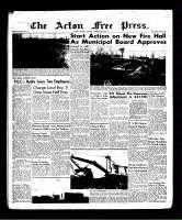Acton Free Press (Acton, ON)25 Oct 1956