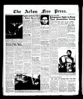 Acton Free Press (Acton, ON)1 Nov 1956