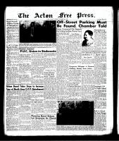 Acton Free Press (Acton, ON)8 Nov 1956