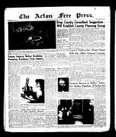 Acton Free Press (Acton, ON)15 Nov 1956