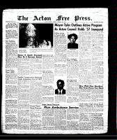Acton Free Press (Acton, ON)10 Jan 1957