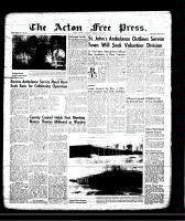 Acton Free Press (Acton, ON), January 17, 1957