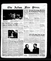 Acton Free Press (Acton, ON)24 Jan 1957