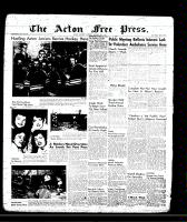 Acton Free Press (Acton, ON)31 Jan 1957