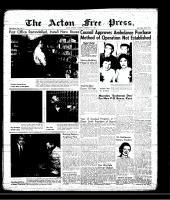 Acton Free Press (Acton, ON), February 7, 1957