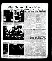 Acton Free Press (Acton, ON), February 21, 1957