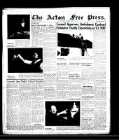 Acton Free Press (Acton, ON)7 Mar 1957