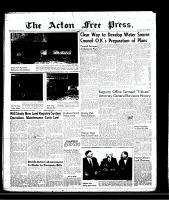 Acton Free Press (Acton, ON), March 21, 1957