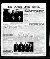Acton Free Press (Acton, ON), April 4, 1957