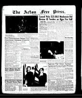 Acton Free Press (Acton, ON)11 Apr 1957