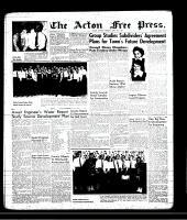 Acton Free Press (Acton, ON), April 18, 1957