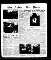 Acton Free Press (Acton, ON), April 25, 1957
