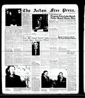 Acton Free Press (Acton, ON), May 2, 1957