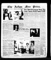 Acton Free Press (Acton, ON)9 May 1957