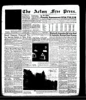 Acton Free Press (Acton, ON)16 May 1957