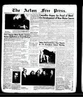 Acton Free Press (Acton, ON)23 May 1957