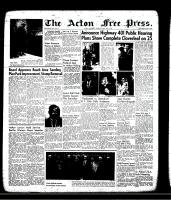 Acton Free Press (Acton, ON)30 May 1957