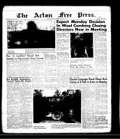Acton Free Press (Acton, ON)6 Jun 1957
