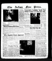 Acton Free Press (Acton, ON)13 Jun 1957