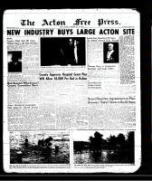 Acton Free Press (Acton, ON)11 Jul 1957