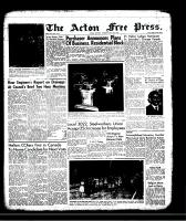 Acton Free Press (Acton, ON)18 Jul 1957