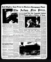 Acton Free Press (Acton, ON)1 Aug 1957