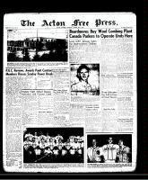 Acton Free Press (Acton, ON)29 Aug 1957