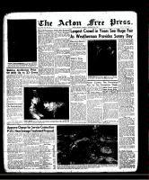 Acton Free Press (Acton, ON)26 Sep 1957