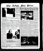 Acton Free Press (Acton, ON)3 Oct 1957