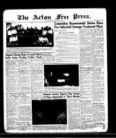 Acton Free Press (Acton, ON)17 Oct 1957