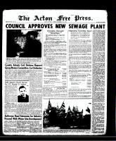 Acton Free Press (Acton, ON)14 Nov 1957