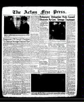 Acton Free Press (Acton, ON)21 Nov 1957