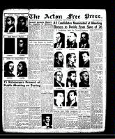 Acton Free Press (Acton, ON)28 Nov 1957