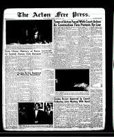 Acton Free Press (Acton, ON)30 Jan 1958