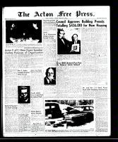 Acton Free Press (Acton, ON)6 Mar 1958