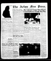Acton Free Press (Acton, ON)20 Mar 1958