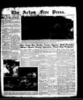 Acton Free Press (Acton, ON)7 Aug 1958