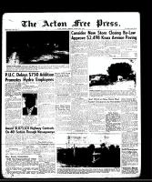 Acton Free Press (Acton, ON)28 Aug 1958