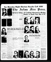 Acton Free Press (Acton, ON)27 Nov 1958