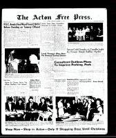 Acton Free Press (Acton, ON)11 Dec 1958