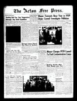 Acton Free Press (Acton, ON)8 Jan 1959