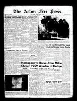 Acton Free Press (Acton, ON)22 Jan 1959
