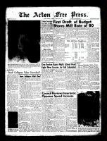 Acton Free Press (Acton, ON)24 Mar 1960