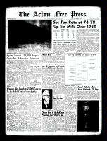 Acton Free Press (Acton, ON)31 Mar 1960