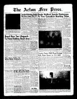 Acton Free Press (Acton, ON)21 Apr 1960