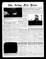 Acton Free Press (Acton, ON)5 May 1960