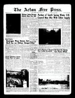 Acton Free Press (Acton, ON)28 Jul 1960
